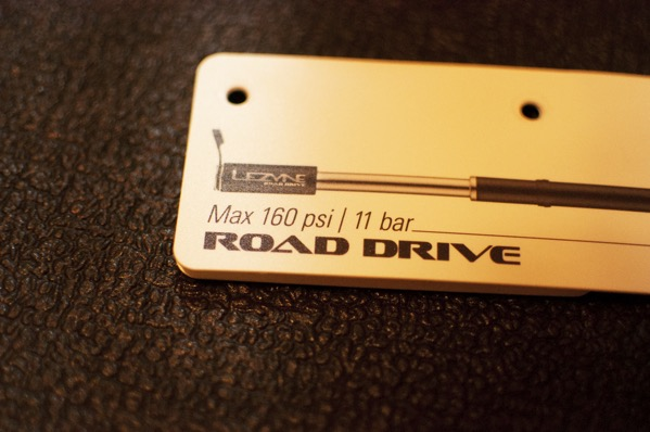 Lezyne - Road Drive Mini ABS レビュー2
